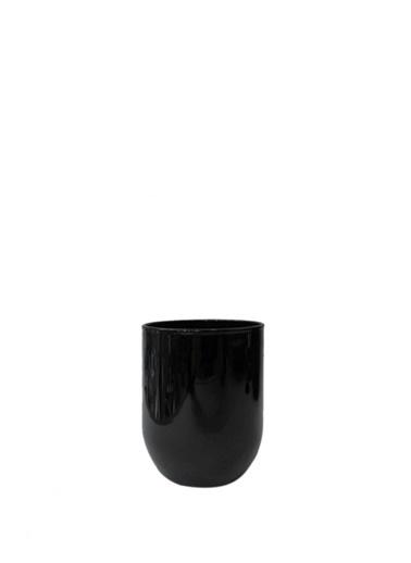 ÇIRPAN EV Opak Siyah Su/Meşrubat Bardak 6'Lı Renkli